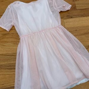Omami Mini Pink Girls Dress size 4